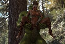 Amaya and the Orc