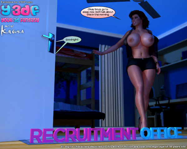 Y3DF – Recruitment Office
