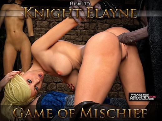 Hibbli3D – Knight Elayne Game Of Mischief
