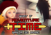 "What if ""Adventure Time"" was a 3D Anime Game (InProgress) Beta 7"