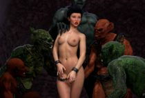 Hibbli3D – Sorceress Lori - Sold To Demon - Bad Ending 2