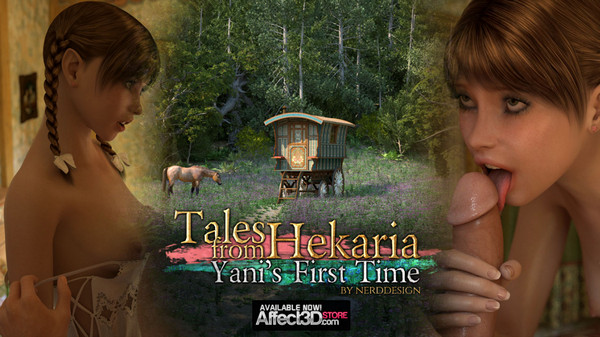 Nerddesign – Tales From Hekaria Yani's First Time