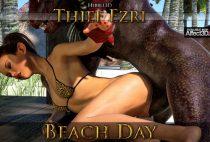 Hibbli3D – Thief Ezri – Beach Day Part 2