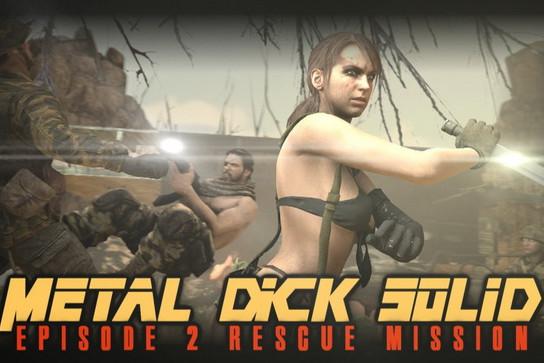 Metal Dick Solid Episode 1-2