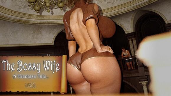 GTSXotwoD – The Bossy Wife – A Giantess Tale
