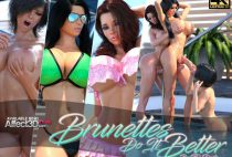 TheDude3DX – Brunettes Do It Better