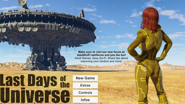 Last Days of the Universe – Episode 1 Female – Prologue Male