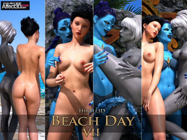 Hibbli3D – Beach Day 7