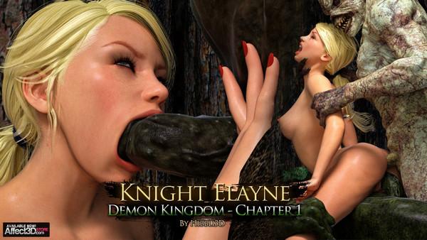 Hibbli3D – Knight Elaine – Demon Kingdom