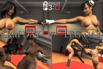 Squarepeg3D – Arm Day vs Leg Day