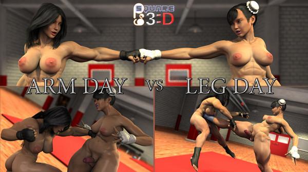 Squarepeg3D – Arm Day vs Leg Day