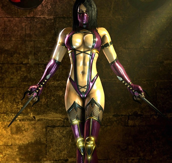 Mileena (Mortal Kombat) assembly