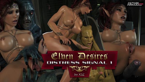 X3Z – Elven Desires – Distress Signal