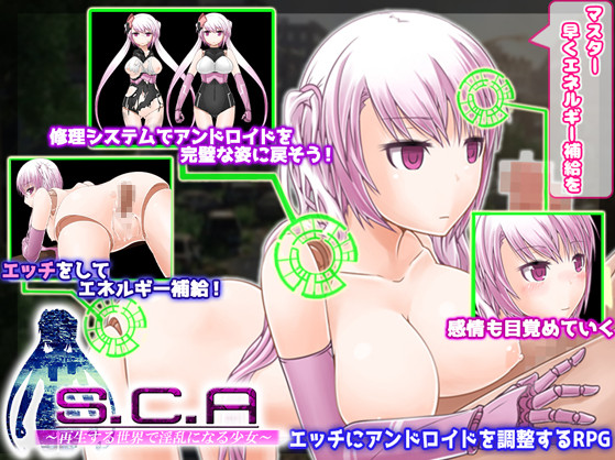 S.C.A -Sexually Customized Android in This Renewing World