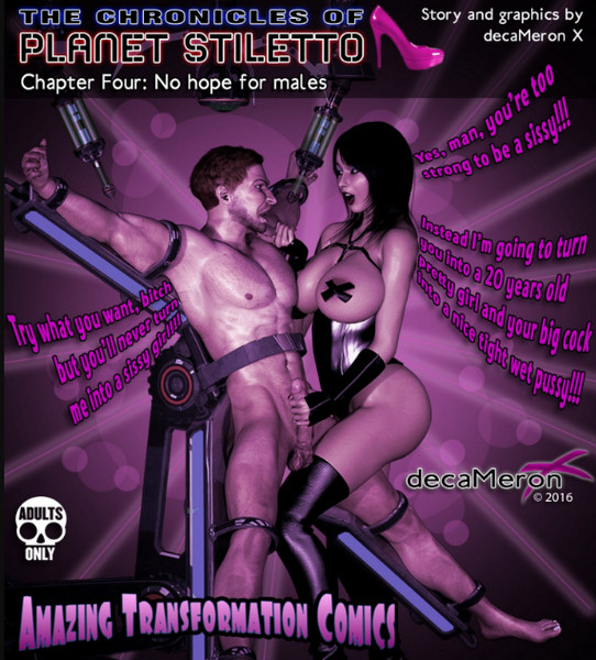 DecaMeron X - The Chronicles of Planet Stiletto 1-4