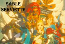 Sable Serviette Works / Zelda Link Mipha Urbosa