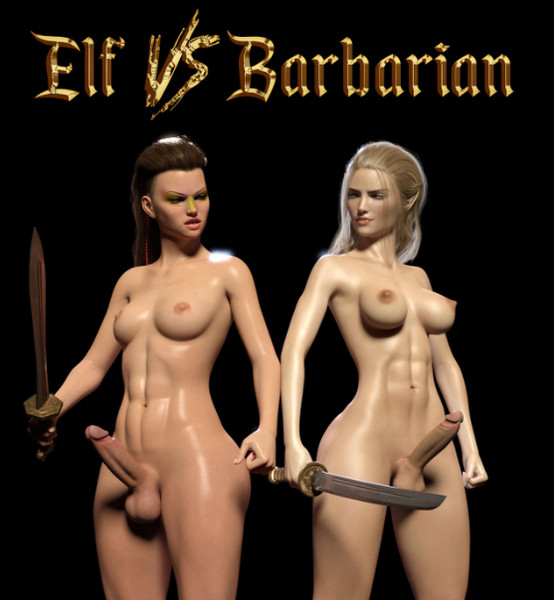 Sarubo3d - Elf vs Barbarian
