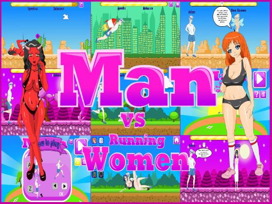 Man vs Running Women (Eng)