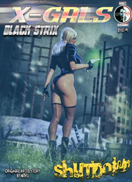 Mitru - X-GALS - Black Strix: Shutdown 1-18