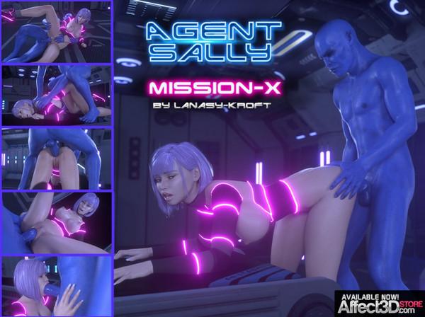 LanasyKroft – Agent Sally – Mission X