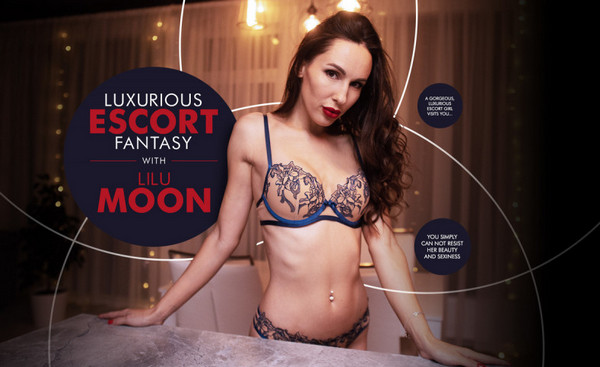 Luxurious Escort Fantasy with Lilu Moon